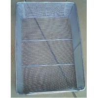 Buy cheap stainless steel wire mesh washing basket/metal laundry basket from wholesalers