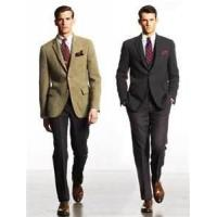 Buy cheap stylish formal classic 65% polyester 35% viscose mens business suits for meeting weddings from wholesalers