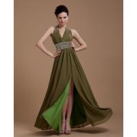 Buy cheap Sexy Deep V Neck Evening Party Dresses , womens long prom dresses from wholesalers