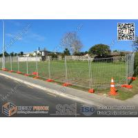 Buy cheap OD 38mm Frame Pipe  Temp fence panels 2.1mx3.0m max design zinc coated 100gram/sqm from wholesalers