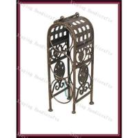 Buy cheap Antique bronze wine racks/wine holders for kitchen furnitures from wholesalers