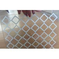 Buy cheap WHITE, NON GLARE GLASS, CLEAR GLASS, 2MM,1830*2440, 1830*1220 mm, PICTURE FRAMES, PICTURE GLASS, NOTBOARD from wholesalers