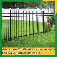 Buy cheap Sir Samuel Wrought iron tubular fence house fencing pictures iron fences from wholesalers
