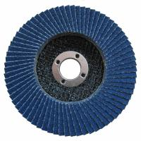 Buy cheap 4-1/2 X 7/8 60 Grit Zirconia Angle Grinder Cutting Wheel Abrasive Flap Disc from wholesalers
