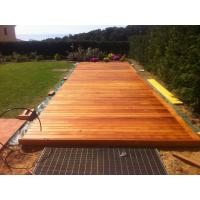 Buy cheap extremly strong wood decking floor boards for outdoor use - cumaru from wholesalers