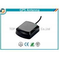 Buy cheap SMA / SMB / BNC Connector GPS External Antenna HI Gain For Vehicle System product