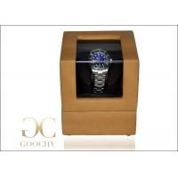 Buy cheap Leather Watch Winder / Battery Powered Watch Winder Box For Rolex Watches from wholesalers