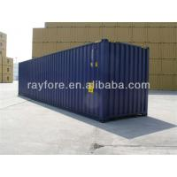 Buy cheap new 40ft shipping container ,red clor ,steel,dalain,qingdao,shanghai,ningbo etc from wholesalers