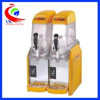 Buy cheap Industrial 2 Bowl Slush Cold Drink Dispenser With Big Capacity from wholesalers