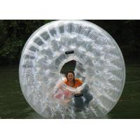 Buy cheap Clear PVC Pool Hamster Ball Customized Color Printed Hot Air Welded Technology from wholesalers