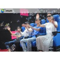 Buy cheap Smooth Seat Action 4d Cinema Theater With Vibration / Movement / Push Back product