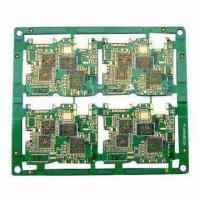 Buy cheap Ten-layered HAL PCB with BGA, Green Solder Mask, Made of FR4, 1.6mm Thickness from wholesalers