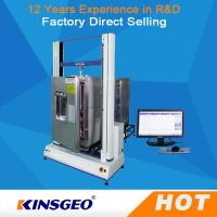 Buy cheap High Low Temperature Universal Testing Machines / Carton Compression Tester from wholesalers