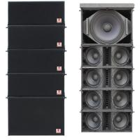 Buy cheap indoor outdoor line array dual 10'' church speaker from wholesalers
