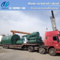 Buy cheap waste tyre pyrolysis machine get fuel oil from waste tyre from wholesalers