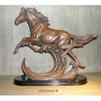Buy cheap Polyresin horse figurine (some are plated) from wholesalers