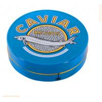 Buy cheap 30 gm caviar tin box,50 gm  caviar tin box,100 gm caviar tin box,125gm caviar tin box,150gm  caviar tin box product