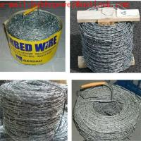 Buy cheap Twisted Fence Wire, Barbed Tape, Barbed Wire Fence /Hot Dipped Galvanized(250g/m2 zinc) Barbed Wire Mesh Fencing from wholesalers