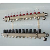 Buy cheap Stainless Steel 11 Port Underfloor Heating Manifold Set from wholesalers