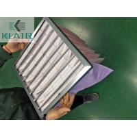 Buy cheap Commercial Bag Air Filters Air Handling Unit AHU Filter New Standard ISO 16890 Epm1 product