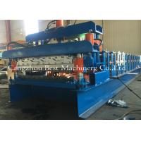 Buy cheap Double Layer Roof Sheet Tile Roll Forming Machine 12-15m/Min New Condition from wholesalers