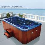 Buy cheap Monalisa M-3337 swimming pool SPA hot tub USA Balboa intelligent swim pool Western style hot tub SPA outdoor mass from wholesalers