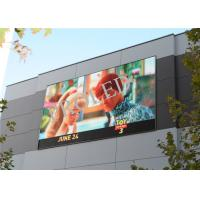 Full Color P8 HD LED Video Screen Energy Efficiency Simple Structure