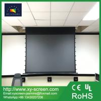 Buy cheap Best choose anti light black diamond tab tensioned motorized projection screen from wholesalers