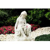 Buy cheap White marble Carving sculpture from wholesalers