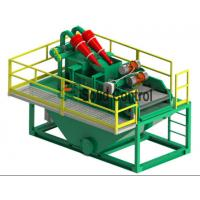 Buy cheap Double Layers Bored Pile Construction Drilling Mud System Vibration Motor Supported from wholesalers
