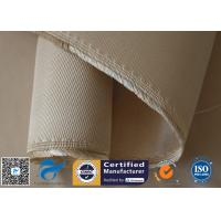 Buy cheap 35oz High Silica Fabric 1.3mm Cross Twill Thermal Insulation Fibreglass Cloth from wholesalers