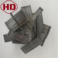 Buy cheap Glued Steel Fiber With Hook End For Shotcrete Reinforcement from wholesalers