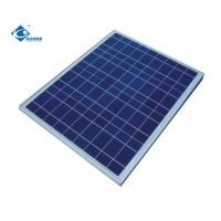 Buy cheap 60W home Solar Energy Systems ZW-60W-18V solar panel photovoltaic 18V Glass Laminated Solar Panel product