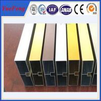 Buy cheap China factory wholesales colored anodized aluminum channel from wholesalers