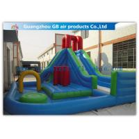 Buy cheap Kids Backyard Inflatable Water Slides Blow Up , Inflatable Outdoor Water Slides from wholesalers