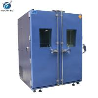 Buy cheap Double Doors Programmable controller 1000 L climate simulation test constant temp. humi. test chamber product