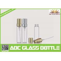 Buy cheap Wholesale CE/ISO 5ml Tubular Glass Vial, 5ml Glass Bottle With Aluminum Pump Sprayer from wholesalers