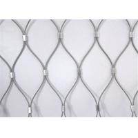 Buy cheap Flexible X-Tend Ferruled Stainless Steel Rope Mesh Netting For Balcony Balustrade from wholesalers