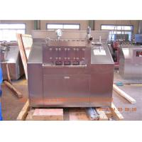 Buy cheap Stainless steel Housing chocolate / Ice Cream Homogenizer 6000 L/H 110 KW from wholesalers