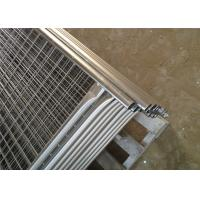 Buy cheap OD 32 Pipes Free Standing Temporary Fence / Children'S Fence Temporary from wholesalers