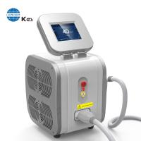 Buy cheap Double TEC great cooling system 3 wavelength 755nm+808nm+1064nm professional soprano painless diode laser hair removal from wholesalers