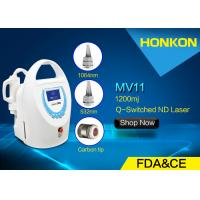 Buy cheap Patented Technology Nd YAG Q - Switched Laser Tattoo Removal Equipment With Single Lamp from wholesalers