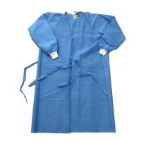 Buy cheap Water Resistant Knitted Cuff Disposable Isolation Gowns from wholesalers