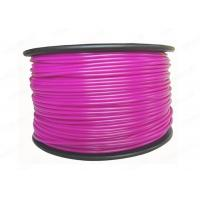 Buy cheap Plastic PLA 3D Printing Filament 3MM Purple For Printer Makerbot R2 / UP 2 product