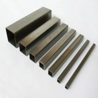 Buy cheap Q235 Galvanized Structural Steel Square Tube 15X15mm - 600X600mm for Oil pipe lines from wholesalers