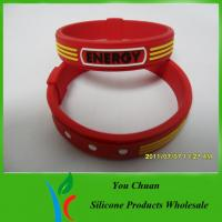China The Best of Power Balance Silicone Wristband Customizable on sale