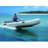 Buy cheap Aluminum Floor Folding Sailing Dinghy , 250cm PVC Roll Up Inflatable Boat With Slat from wholesalers