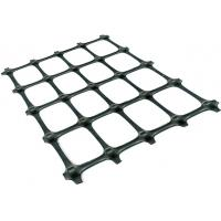 Buy cheap Plastic PP Biaxial Geogrid Reinforcing Fabric Black Color For Soil Reinforcement from wholesalers