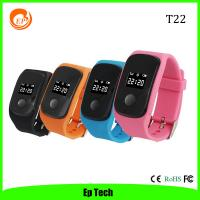 Buy cheap Hot Sell kids/Children/Student/elderly GPS Tracker Watch with SOS Button Set safezone -T22 from wholesalers