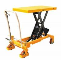 Buy cheap Hand hydraulic table truck from wholesalers